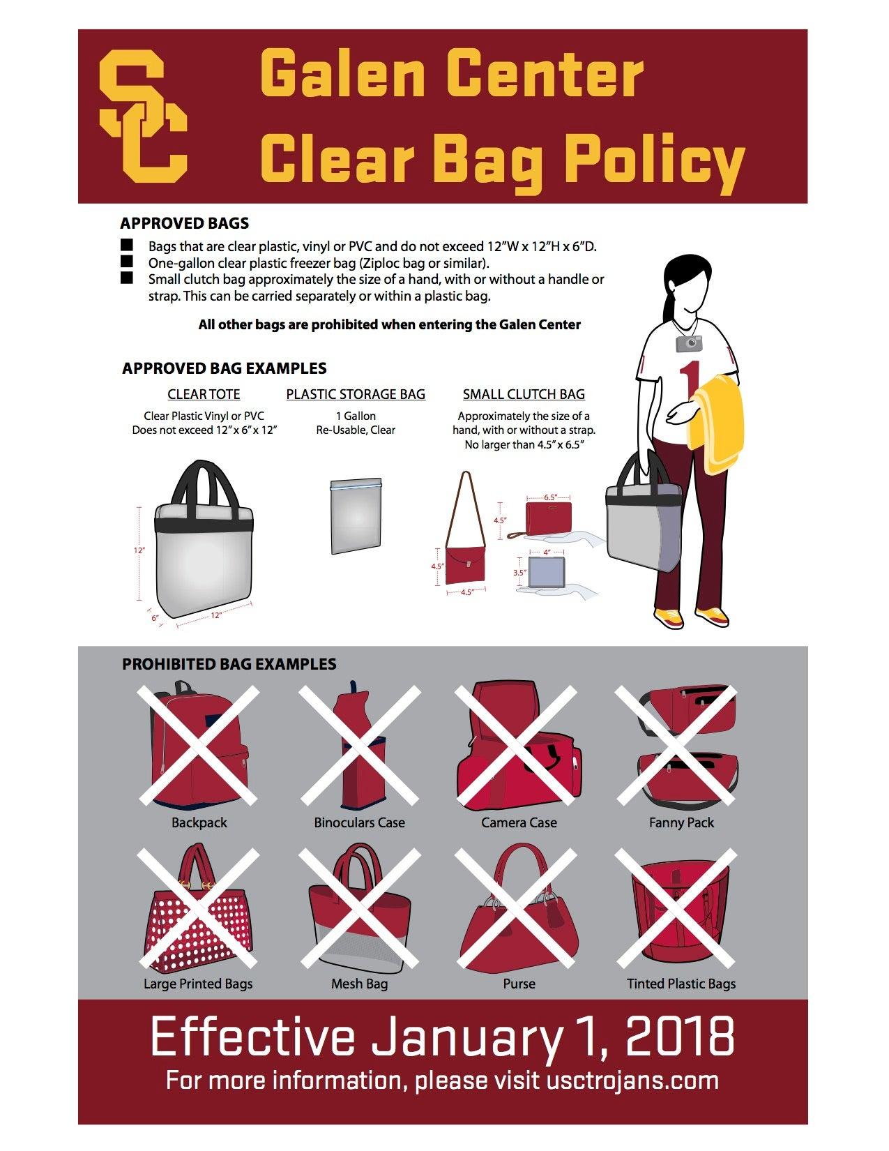 7ffe65daa1 ... Bag Policy ...