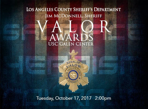 LASD Valor Award