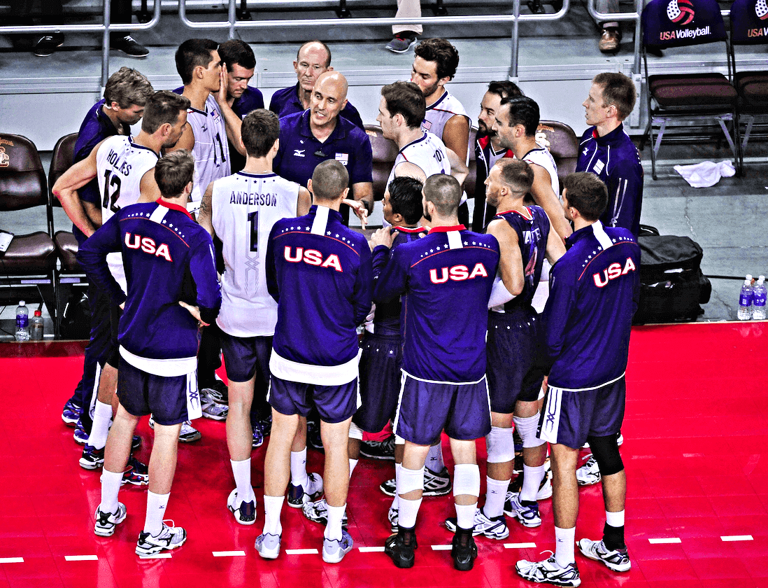 USA Men's National Volleyball Team vs Japan National Team ...
