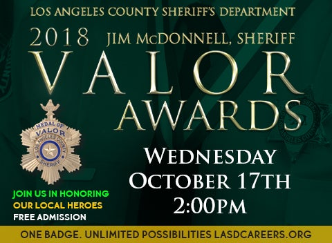 LASD Valor Awards | Galen Center